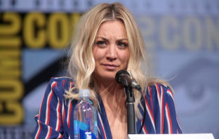 Kaley Cuoco y su triste despedida de 'The Big Bang Theory'