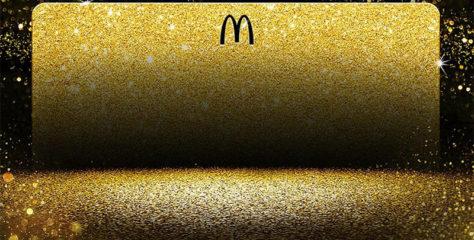 McDonald's sorteará una tarjeta dorada para comer gratis toda la vida