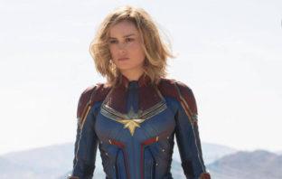 Primer vistazo a Brie Larson como Captain Marvel