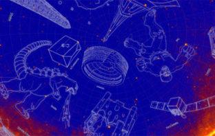 NASA bautizó una constelación bajo el nombre de Godzilla
