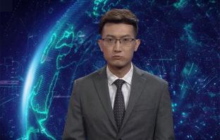 VÍDEO: China lanza el primer presentador de noticias virtual