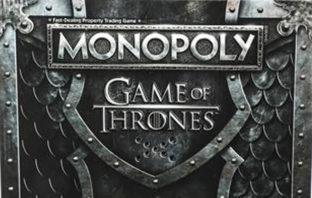 El invierno llega a Monopoly con una versión basada en 'Game of Thrones'