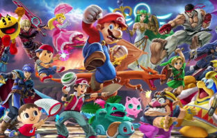 El póster de 'Super Smash Bros. Ultimate' cobra vida en su nuevo spot