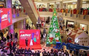 Xiaomi logra récord Guinness por armar árbol de navidad con más de mil smartphones