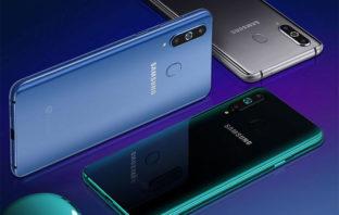 Samsung presenta el Galaxy A8s con pantalla Infinity-O