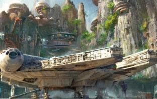 Un nuevo vistazo a las atracciones de 'Star Wars' para los parques de Disney