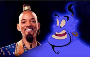 'Aladdin': filtran imagen de Will Smith como el 'Genio' azul