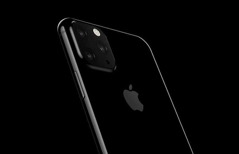 Filtran imagen de la apariencia que tendría el iPhone XI con tres cámaras traseras