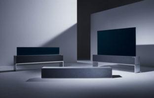 VIDEO: LG presenta el primer televisor OLED enrollable del mundo