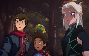 'The Dragon Prince' estrenó el tráiler de su segunda temporada