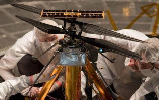 VÍDEO: NASA prueba helicóptero que volará en Marte