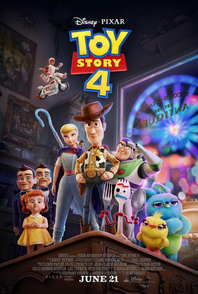 Tráiler oficial de 'Toy Story 4' presenta el origen de Forky
