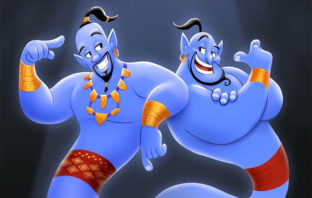 'Aladdin': Genial homenaje de Will Smith al Genio de Robin Williams
