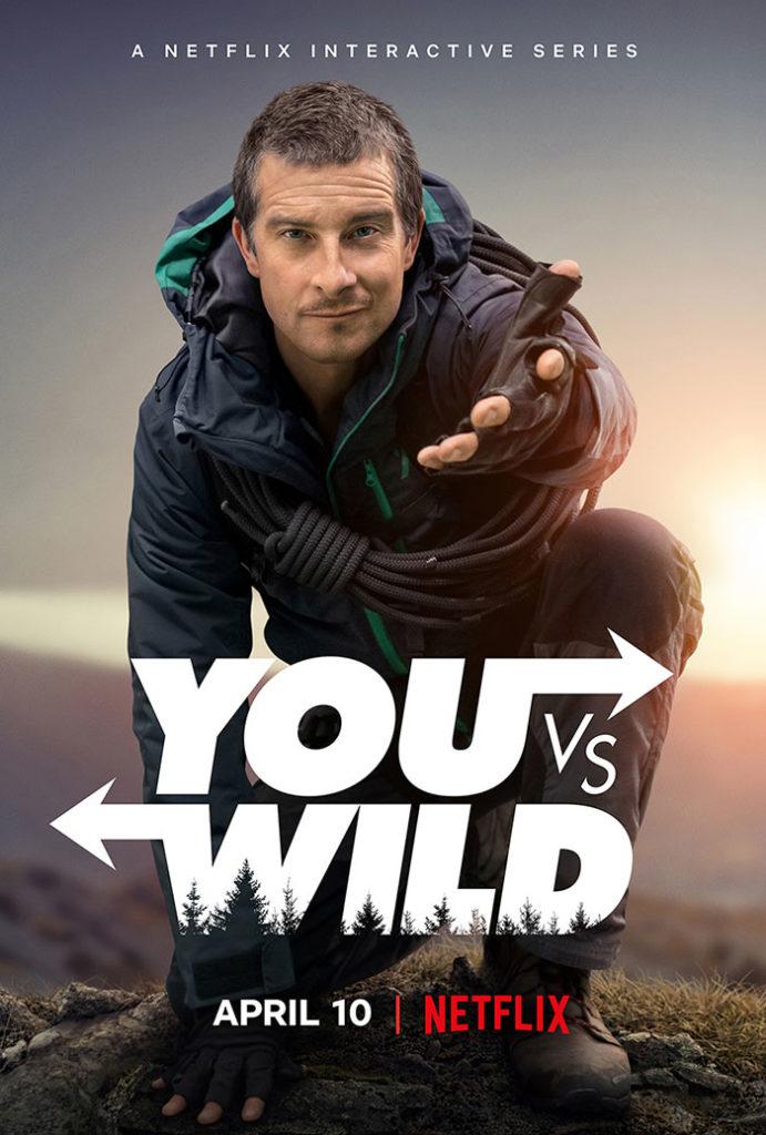 'You vs. Wild': Bear Grylls protagoniza nueva serie interactiva de Netflix