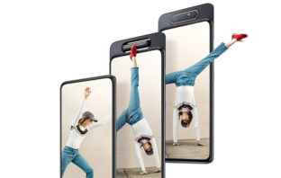 Galaxy A80, el primer dispositivo de Samsung con triple cámara retráctil