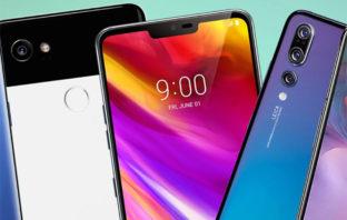 Los 10 smartphones Android más potentes del momento