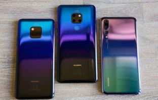 Teléfonos Huawei que pueden actualizarse a Android Pie en Ecuador