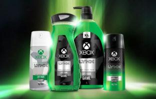 Microsoft y Axe crean Lynx Xbox, una línea de productos de higiene personal