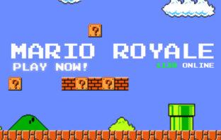 Crean un 'Super Mario Bros.' en formato Battle Royale, y puedes jugarlo gratis