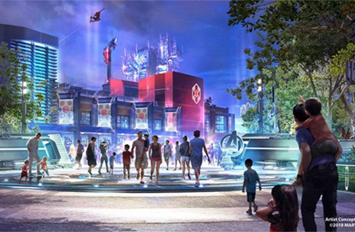 Disney empieza la construcción del nuevo parque temático de Marvel