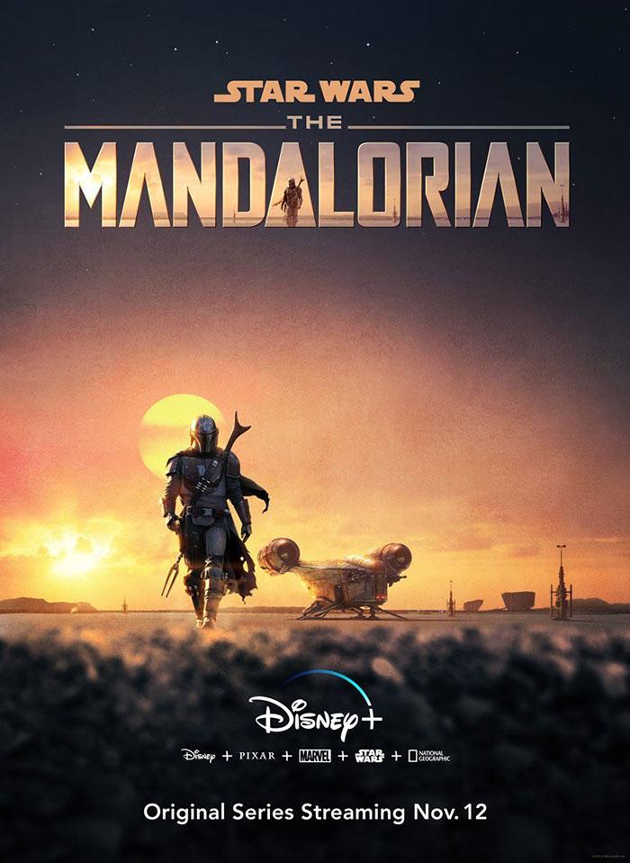 Tráiler de 'The Mandalorian', la primera serie live-action de 'Star Wars'