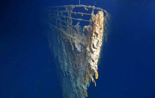 Revelan imágenes de los restos del Titanic por primera vez en 14 años