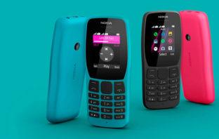 Nokia apunta a la nostalgia con sus nuevos modelos: el 2720 Flip, 800 Tough y 110