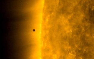 La NASA muestra el tránsito de Mercurio frente al Sol en un fantástico vídeo 4k