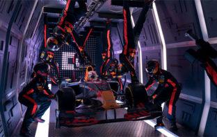 VÍDEO: El increíble pit-stop de Red Bull en gravedad cero