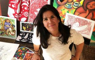 Perfil Creativo: María Loor, artista de Ecuador al mundo