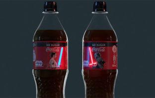 VÍDEO: Coca-Cola presenta su nueva edición inspirada en la saga 'Star Wars'