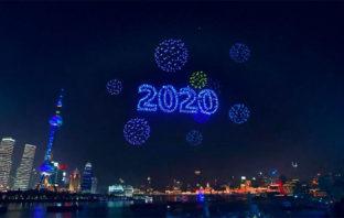 VÍDEO: El espectáculo de drones chinos no recibió el año nuevo