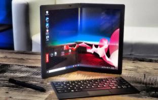 Lenovo presentó la ThinkPad X1 Fold, su primera tablet plegable