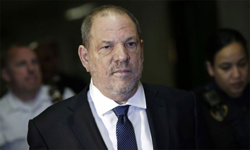 Harvey Weinstein fue declarado culpable por el cargo de acoso sexual