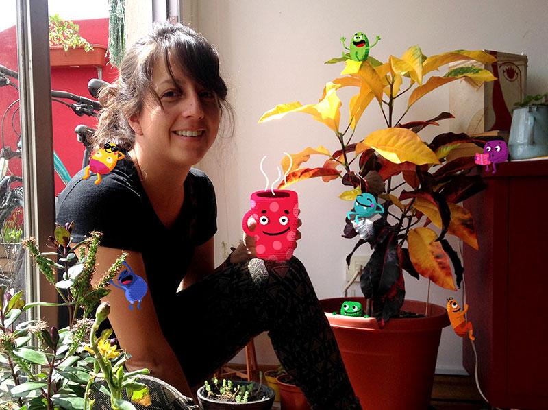 """Perfil Creativo: Cristina Yépez """"Cardenilla"""", ilustradora"""