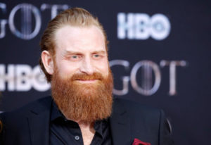 Kristofer Hivju, Tormund en 'Game of Thrones', da positivo por coronavirus
