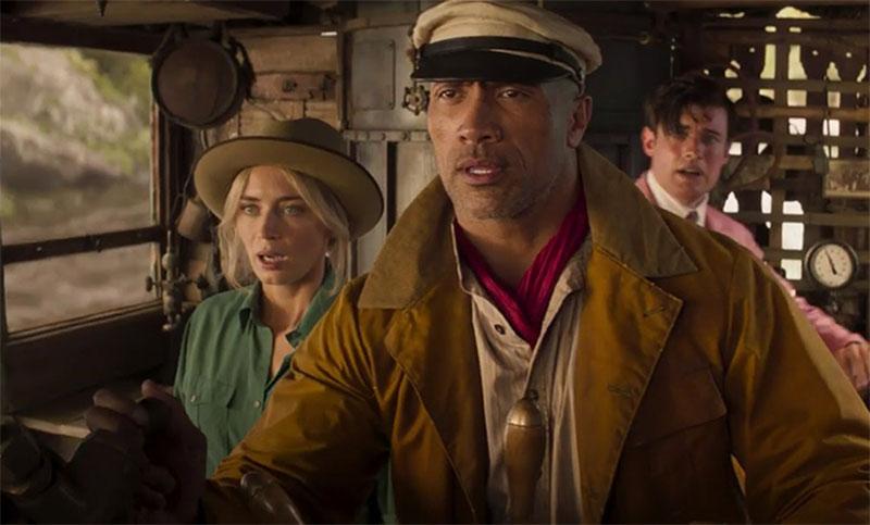 Emily Blunt y The Rock navegan el Amazonas en el nuevo tráiler de 'Jungle Cruise'