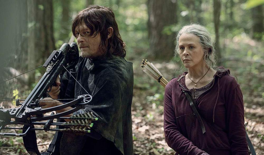 Coronavirus: 'The Walking Dead' posterga el final de su décima temporada
