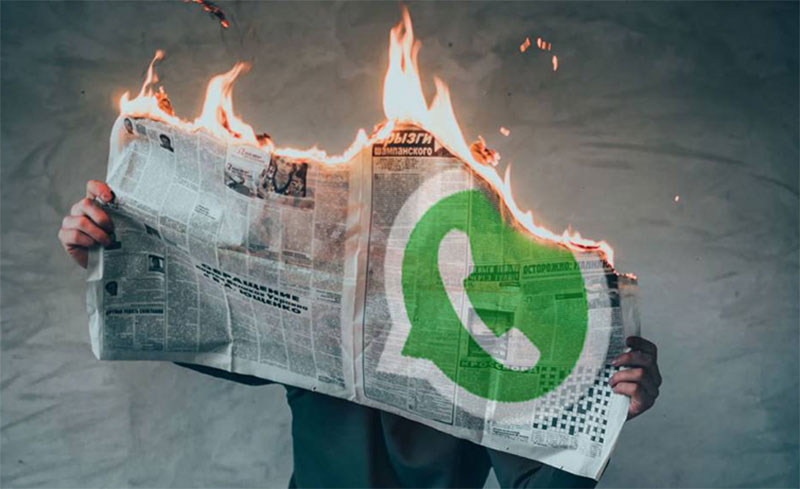 WhatsApp crea centro de información de coronavirus para evitar las fake news